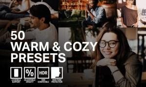 50 Warm & Cozy Lightroom Presets