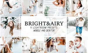 Bright and Airy Lightroom Presets 4281729