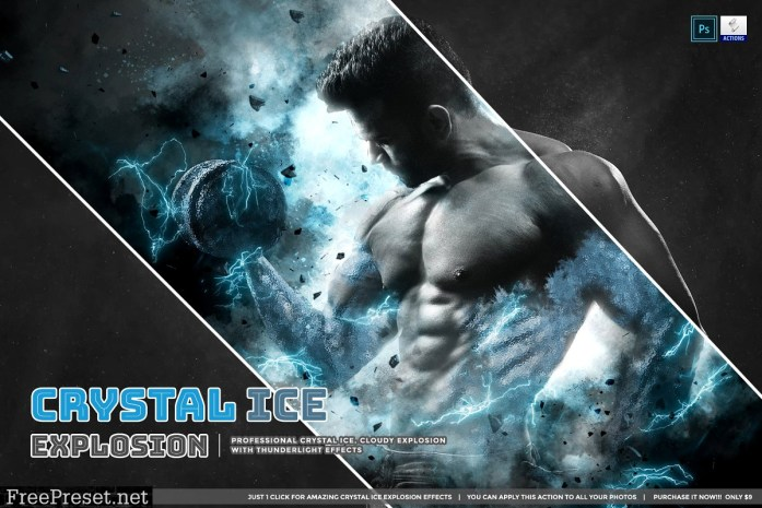 Crystal Ice Explosion 4366227