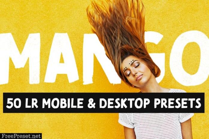 Mango - 50 Bright Lightroom Presets
