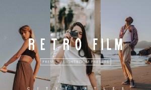 RETRO FILM Lightroom Presets Pack 4361946