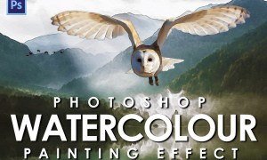 Watercolour Photoshop Action 2362177