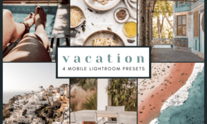 4 Mobile Lightroom Presets | Vacations 2651879