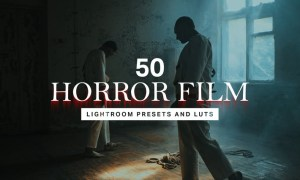 50 Horror Film Lightroom Presets and LUTs