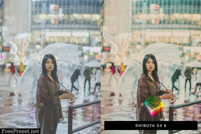 50 Rainy Japan Lightroom Presets