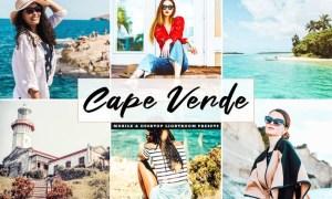 Cape Verde Mobile & Desktop Lightroom Presets