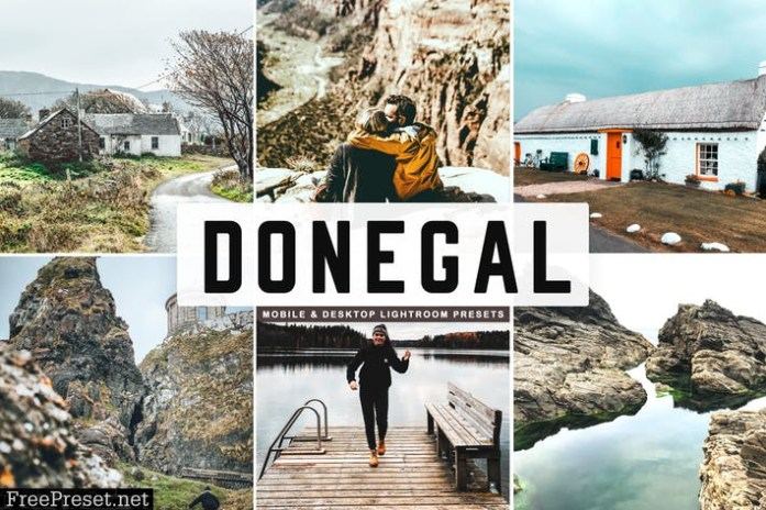 Donegal Mobile & Desktop Lightroom Presets