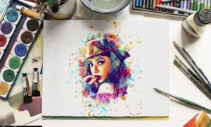 Dynamics Watercolor Painting 24992682