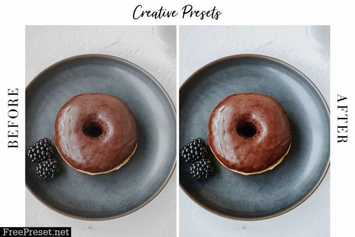 Food Presets for Lightroom Desktop & Mobile