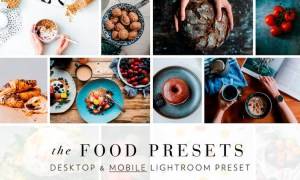 Food Presets for Lightroom Desktop & Mobile