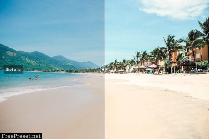 Praia Mobile & Desktop Lightroom Presets