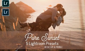 Pure Sunset Lightroom Presets 4400317
