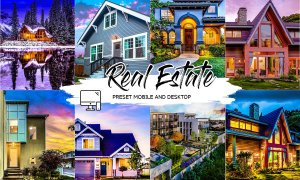 REAL ESTATE LIGHTROOM PRESETS 4439213