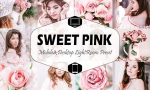 Sweet Pink Mobile & Desktop Lightroom 2449702