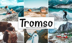 Tromso Mobile & Desktop Lightroom Presets