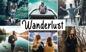 Wanderlust Mobile & Desktop Lightroom Presets