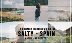5 Salty Spain Lightroom Presets 4526936