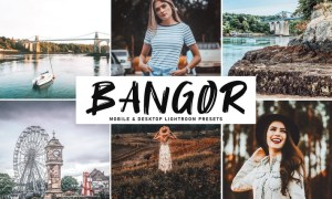 Bangor Mobile & Desktop Lightroom Presets