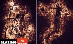 Blazing Photoshop Action Z2GETV7