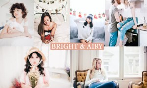 BRIGHT & AIRY Lightroom Presets Premium
