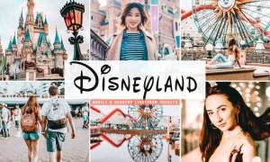 Disneyland Mobile & Desktop Lightroom Presets