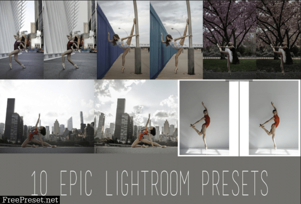 Eva Nys Photography - Eva's Dance Class Lightroom Presets