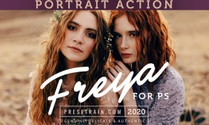 Freya Portrait Action for Photoshop 2CH4VCT