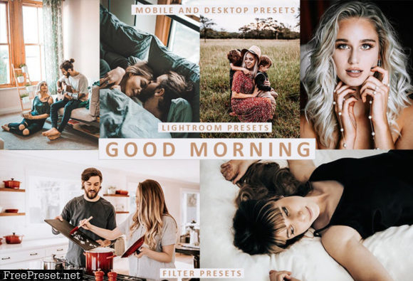 Good Morning Lightroom Presets Premium