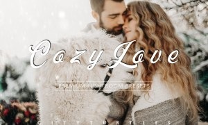Moody COZY LOVE Lightroom Presets 4332433