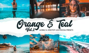 Orange & Teal Lightroom Presets Vol. 2