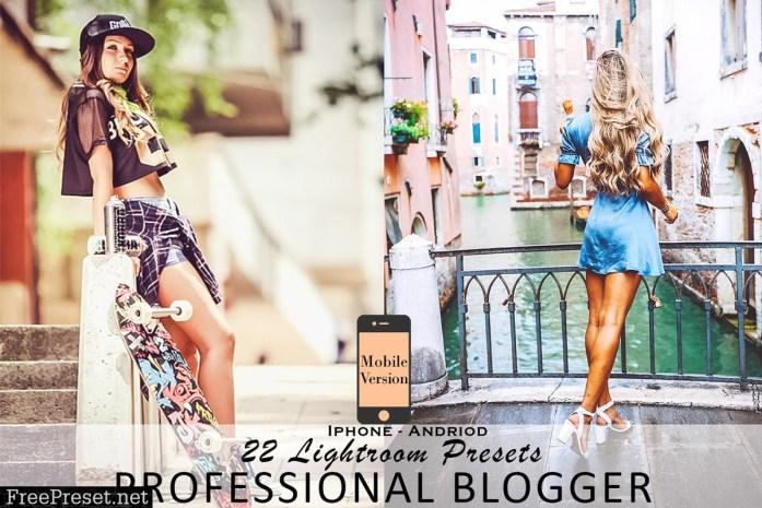 Professional blogger mobil Lightroom 4532508