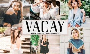 Vacay Mobile & Desktop Lightroom Presets