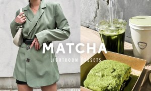 10 MATCHA GREEN LIGHTROOM PRESETS 4609006