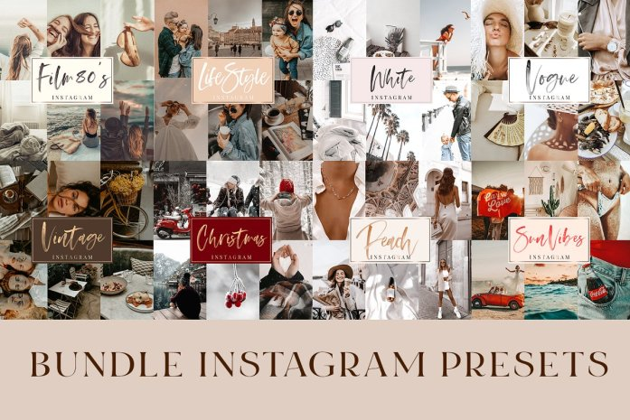 14 Mobile Presets Instagram - Bundle 4641475