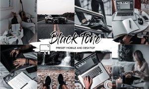 BLACK TONE LIGHTROOM PRESETS 4505399