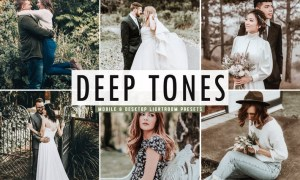 Deep Tones Mobile & Desktop Lightroom Presets