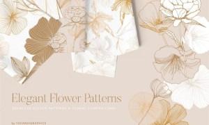 Elegant Flower Patterns 4BUL97K