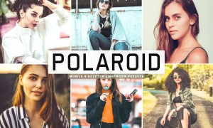 Polaroid Lightroom Presets Pack 3626092