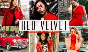 Red Velvet Lightroom Presets Pack 3626301