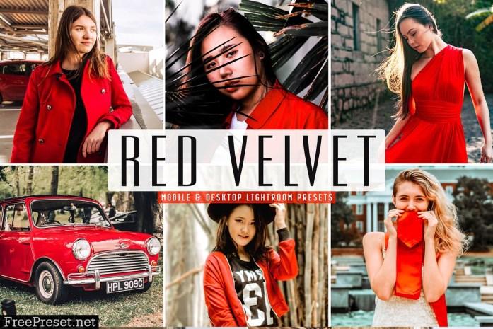 Red Velvet Lightroom Presets Pack 3626301