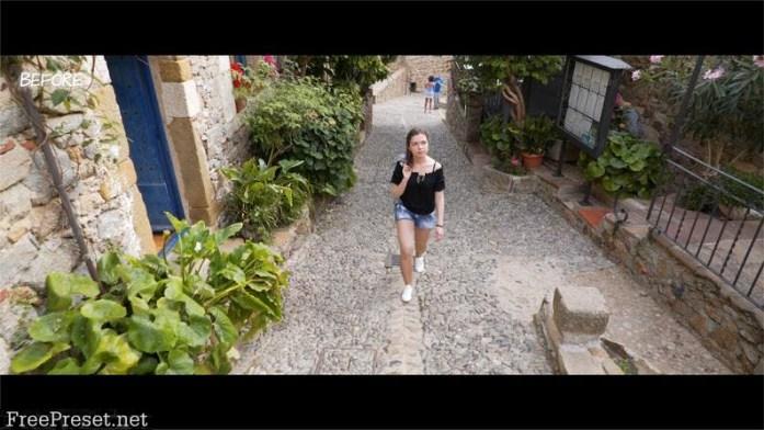Travel film LUTs
