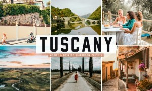 Tuscany Mobile & Desktop Lightroom Presets