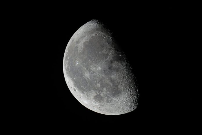 Waning Gibbous Moon, Close to Last Quarter