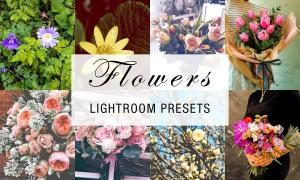 24 flowers lightroom presets 4784961