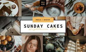 4 Sunday Cakes – Lightroom Presets 4738438