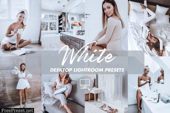 Desktop Lightroom Presets WHITE VIBE 4841812