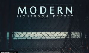 Modern Lightroom Preset 26210373