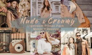 Nude & Creamy | Lightroom Presets Mobile+Desktop