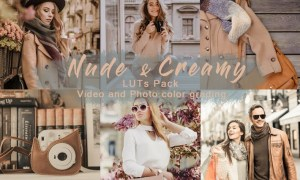 Nude & Creamy | LUTs Pack