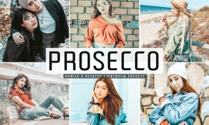 Prosecco Mobile & Desktop Lightroom Presets